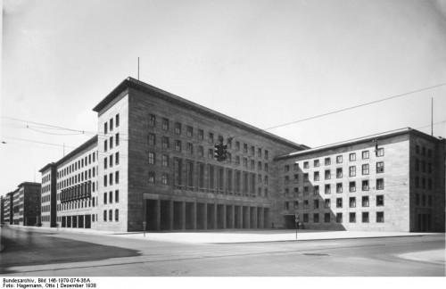 Эрнст Загебиль - Здание имперского министерства авиации, 1935-1936
