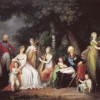 """Герард фон Кюгельген - """"Портрет Павла I с семьёй"""", 1800"""