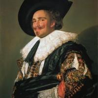 """Франс Хальс - """"Смеющийся кавалер"""", 1624"""