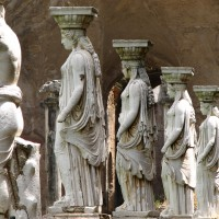 Кариатиды из виллы Адриана в Тиволи, 118-134 гг.