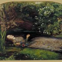 Джон Эверетт Милле - «Офелия» ок. 1851