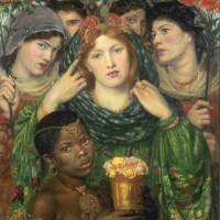 Данте Габриэль Россетти - «Невеста», 1866