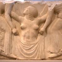 """""""Рождение Венеры"""" (фрагмент """"Трона Людовизи""""), 460-450 гг. до н.э."""