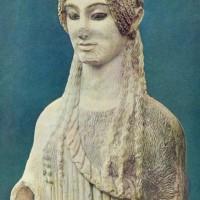 Задумчивая кора (Кора 674), 510 - 500 гг. до н.э.