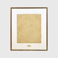 Роберт Раушенберг - «Стертый рисунок Де Кунинга», 1953