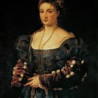 """Тициан - """"Красавица"""", 1536"""