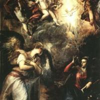 "Тициан - ""Благовещение"", 1559-1564"