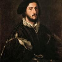 "Тициан - ""Портрет Винченцо Мости"", 1520"