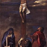 "Тициан - ""Распятие"", 1558"