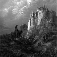 Таким легендарный Камелот видел Гюстав Доре.