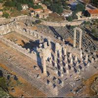 Храм Аполлона в Дидимах. Аэрофотосъемка.