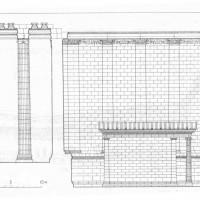 Храм Аполлона в Дидимах. Разрез.
