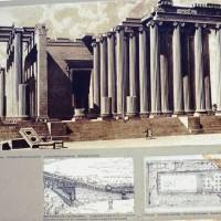 Храм Аполлона в Дидимах. Реконструкция.